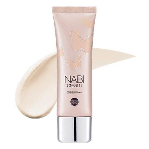 [Holika Holika] Nabi Cream #Beige for Normal/dry Skin Spf25 Pa++ 50g Cc