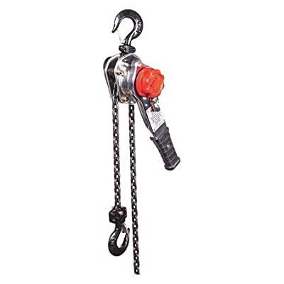 Lever Chain Hoist, 1500 lb, Lift 10 ft.