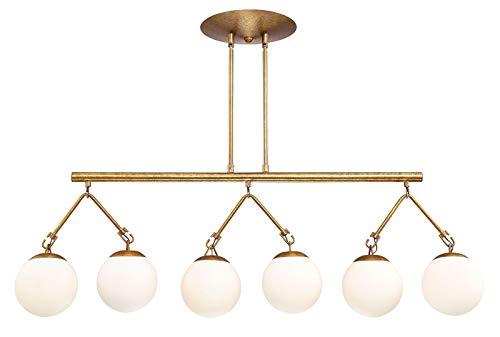 - Craftmade 50776-PAB Orion Chandelier, 6-Light, 360 Watts, Patina Aged Brass (15