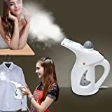 PETRICE Portable Handheld Garment Fabric/Facial Steamer for Clothes and Face