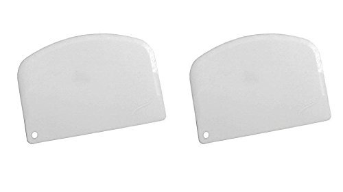 Ateco 1303, Bowl Scraper Set of 2 ()