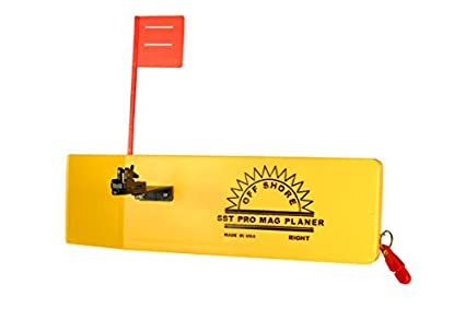 2 PACK OFF SHORE PLANER BOARD TATTLE FLAG PACKAGE OR12 RIGHT//LEFT W// TATTLE FLAG