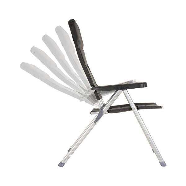 Nexos - Set di 2 sedie Pieghevoli da Campeggio, per ...