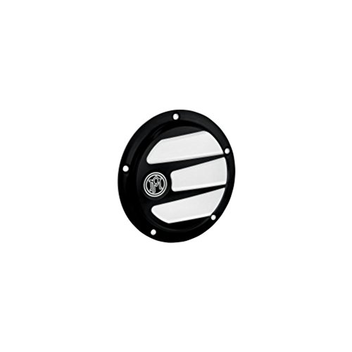 Performance Machine Scallop Contrast Cut 5-Hole Derby Cover 0177-2026-BM (Primary Derby Cover)