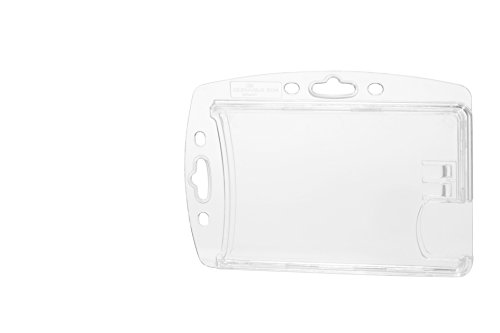 DURABLE Shell Style Dual ID-Card Holder, Vertical or Horizontal Orientation, 0.35