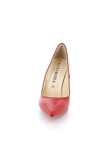 Rojo De Zapatos Mujer Altramarea Vestir Para 4XPYw