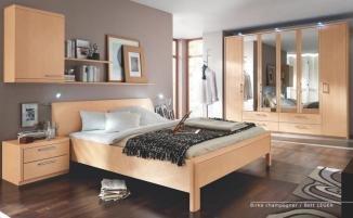 Disselkamp Schlafzimmer Coretta Birke Champagner: Amazon.de: Küche ...