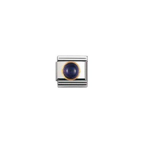 Nomination - 030505 - Maillon pour bracelet composable - Femme - Acier inoxydable et Or jaune 18 cts