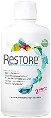 Restore Promotes Gut-Brain Health   Alleviates Gluten Sensitivity, Enhances Mental Clarity, and Strengthens Immune Function and Digestive Wellness   2-Month Supply