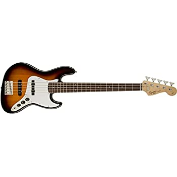 Amazon.com: Squier by Fender Affinity Series Jazz Bass ...