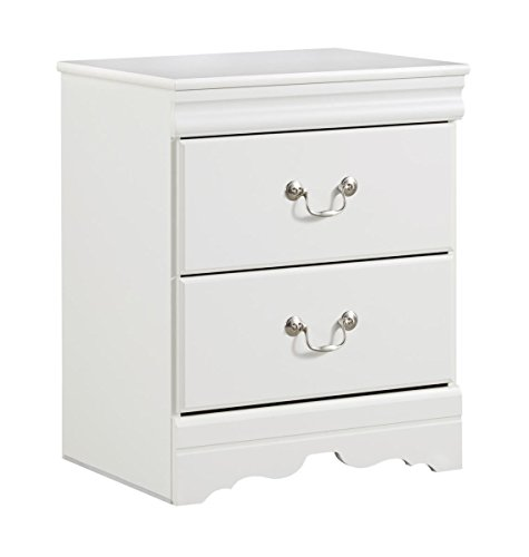 Ashley Furniture Signature Design - Anarasia Nightstand - White
