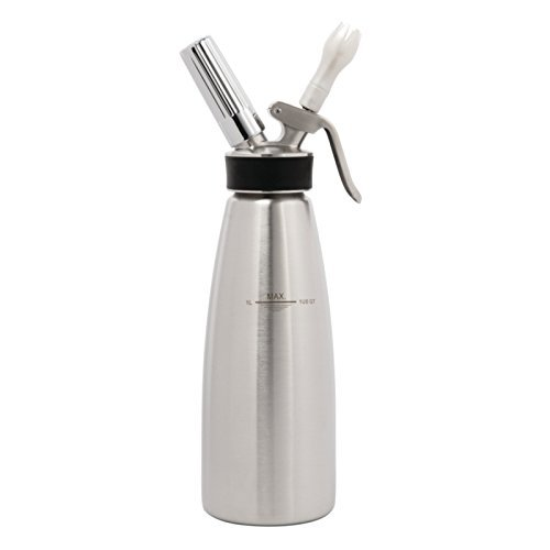 iSi Profi Stainless Steel Whipped Cream Maker, One Quart
