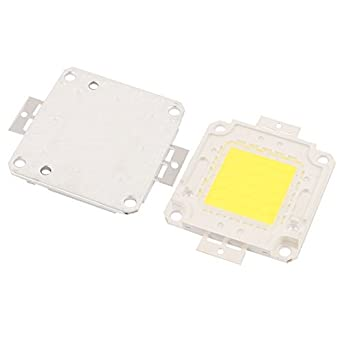 Amazon.com: eDealMax 2pcs 27-30V 50W viruta del LED bulbo ...
