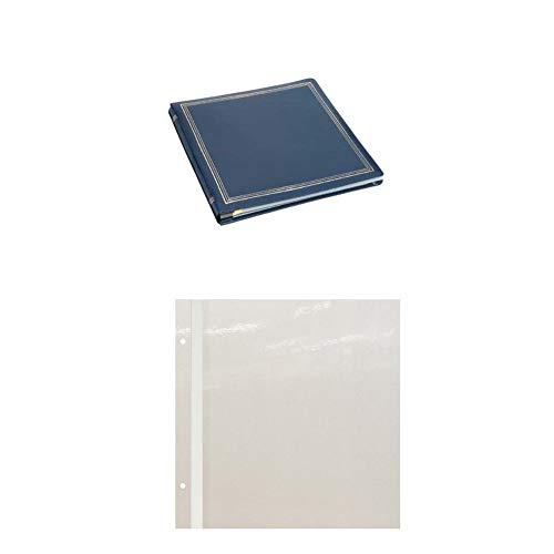 Pioneer PMV206 X-Pando Magnetic Photo Album (Navy Blue) with Refills