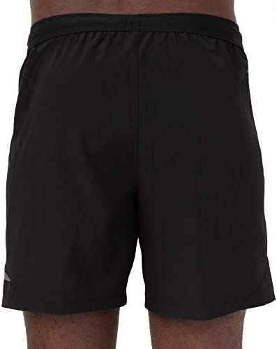 BERGRISAR Mens 7 Inches Active Running Shorts 2 in 1 with Phone Pocket BG600