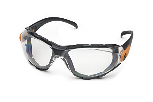 Elvex Go-Specs Safety Glasses, Clear/Foamed