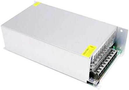 Cloverclover Env/ío Gratuito 12V 1000W Controlador de Fuentes de alimentaci/ón conmutadas para luz LED