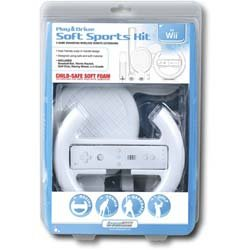 DREAMGEAR DGWII-1050 Wii - Play & Race Soft Sports Kit [Nintendo Wii]