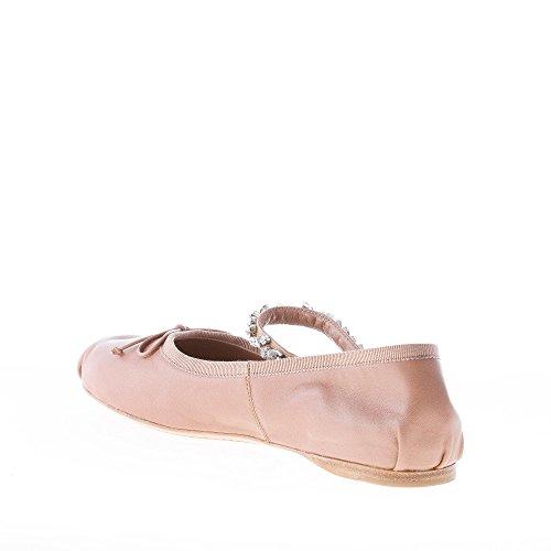 Napa Rose Femme Noeud Antiquité Miu Plat Ballerine Et Chaussures Cristaux xoredBWC