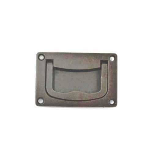 (Bosetti Marella 100111.22 Brass Recessed Pull, 2.95-by-1.97-Inch, Oil Rubbed Bronze)