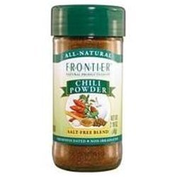 Frontier Herb No Salt Chili Powder Seasoning Blend, 2.08 Ounce - 6 per case