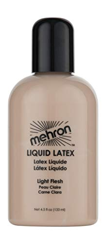 Mehron Makeup Liquid Latex (4.5 oz) (Light