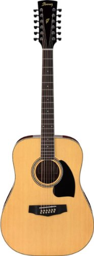 (Ibanez Performance Series PF1512 Dreadnought 12-String Acoustic Guitar Natural )