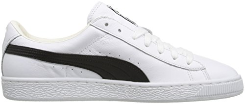 Puma Men's Basket Classic LFS Fashion Sneaker White/Black clearance 2014 newest ebay sale online comfortable for sale clearance online lVpdfK