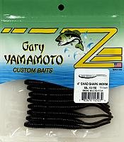 Yamamoto Shad Shape Worm Smk W/Blk Flk Floating Lure (Shad Shape Worm)