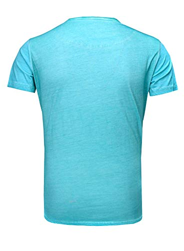 Turquoise Tanaka Crâne T Regardez Akito Homme Rose Deluxe Hut Zylinder shirt Millésime APxq1qwf4