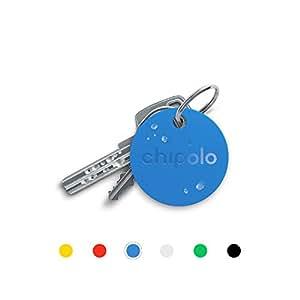 Chipolo Plus Bluetooth buscador de Llaves y teléfono - El màs estrodente. (100 dB) (Azul)