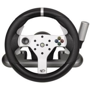 "Mad Catz Gaming Steering Wheel . Wireless . Xbox 360, Pc ""Product Type: Gaming Accessories/Gaming Controllers"""
