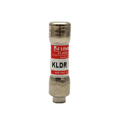 Littelfuse Brand KLDR 3 (KLDR-3) 3 Amp (3 A) 600V Midget Time-Delay fuse