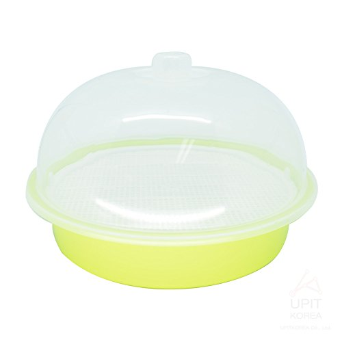 UPIT Microwave Cookware Steamer Large 100 Ounce/ 12.5 Cup Green (Potato Steamer)