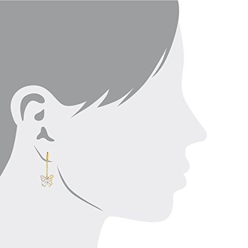 Bella Donna - Boucles d'oreilles - Or 2 couleurs  - 6203HR4B