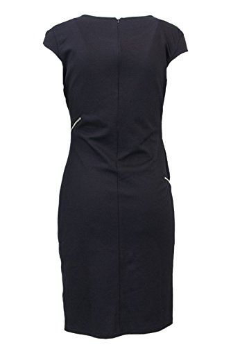 18WWVK92 Vest Damen Kurzes Kleid Schwarz Lidia Desigual 67qFR