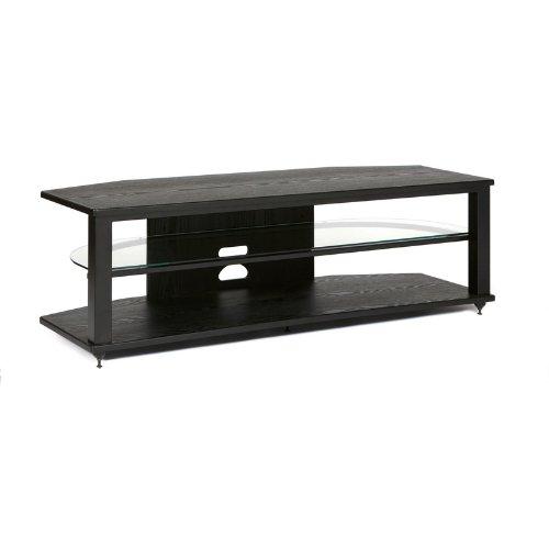 (PLATEAU Audio Video Furniture CRX-2V 54inch (B)-B TV Stand)