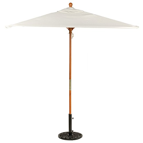 Sunbrella Square 6' Market Umbrella, (6 Foot Square Patio Umbrella)