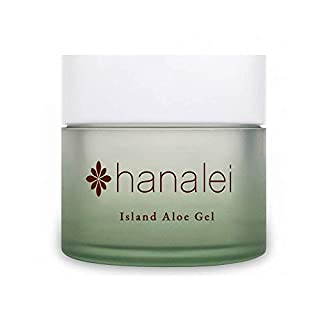Island Aloe Gel by Hanalei Company, Cooling Moisturizer, Helps Relieve Sunburn (Full Size 100gram)