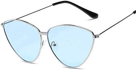 Huichao Gafas de Sol Tipo Ojo de Gato de triángulo, Espejo ...