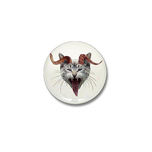 CafePress Krampus Cat Mini Button 1