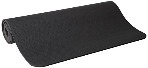 prAna E.C.O. Yoga Mat, Black Vapor, One Size Fits All