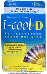 I-cool-cool casher i + D pour la ménopause + Building os 45 Comprimés