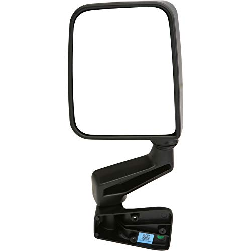 2002 Left Door Mirror - Dependable Direct Left Driver Side Black Non-Heated Folding Door Mirror for Jeep Wrangler (1994 1995 1996 1997 1998 1999 2000 2001 2002) - CH1320296