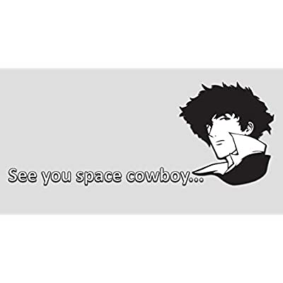 "GI Cowboy Bebop Decal Sticker Vinyl | Cowboy Bebop Soundtrack | Premium Quality | 8"" X 4"": Automotive"