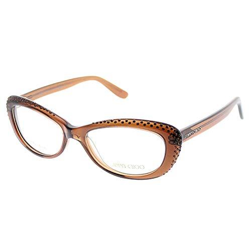 Jimmy Choo 89 Eyeglasses Color 0LRL 00