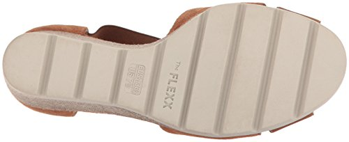 The Flexx Women's Lino Sandal Lotto Wedge Cognac FxFrwqTB0