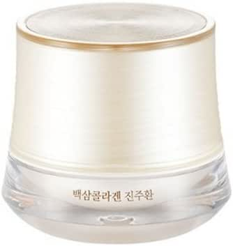 The Face Shop White Ginseng Collagen Pearl Capsule Cream 50g Facial Cream Original Korea