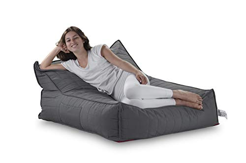 Pozitive Double Jack - Durable, Comfortable, Beautifully Designed Bean Bag/Lounge Chair for Rest and Relaxation. Can Be Used for Indoor and Outdoor. New Comfy Puff - Rocker Puff Chair