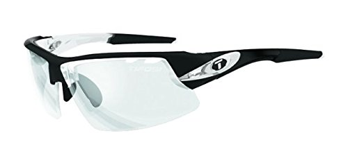 Tifosi Optics Crit Photochromic Sunglasses Crystal Black/Light Night Fototec, One - Photochromic Sunglasses Tifosi